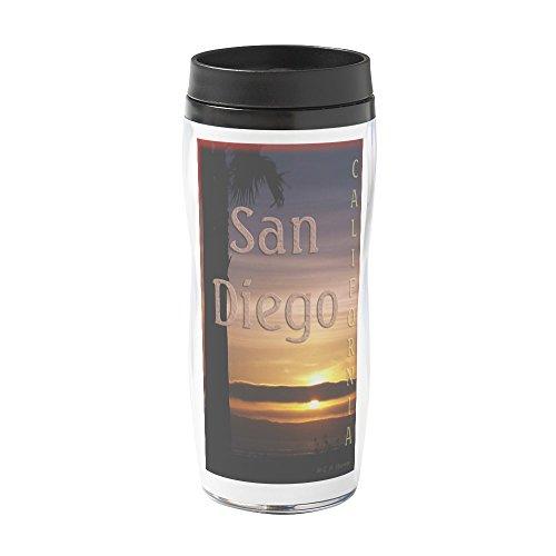 CafePress - Coronado Sunset, San Diego - 16 oz Travel Mug