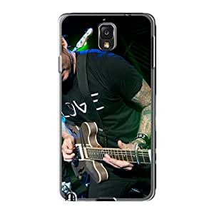 AlissaDubois Samsung Galaxy Note3 Scratch Resistant Hard Cell-phone Cases Custom Stylish Blink 182 Band Skin [DWC3704LXnX]