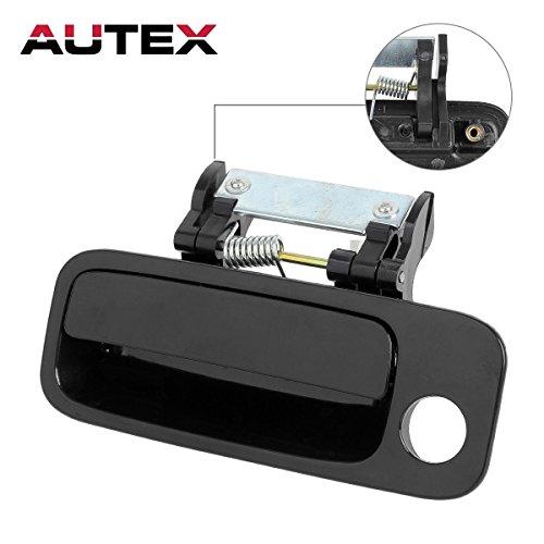 Avalon Door - AUTEX 1pcs Black Exterior Outer Front Left (Driver Side) Door Handle for 2000 2001 2002 2003 2004 Toyota Avalon