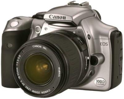 Canon EOS 300D - Cámara réflex Digital (6,3 Mpx, Objetivo EF-S f1 ...