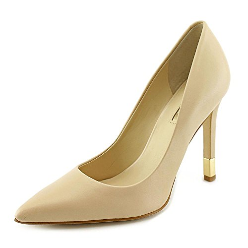 Guess Babbitta Pointed-toe Pumps Medium Natural Leather BUQuvC