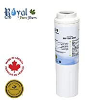 Kenmore 9005, Kenmore 8001, Whirlpool 4396395 and Kenmore 9006 Replacement Refrigerator Water Filter by Royal Pure Filters for Maytag UKF8001 (1 pack)