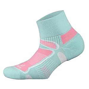 Balega Ultralight Quarter Socks for Men and Women (1-Pair), Aqua, Medium