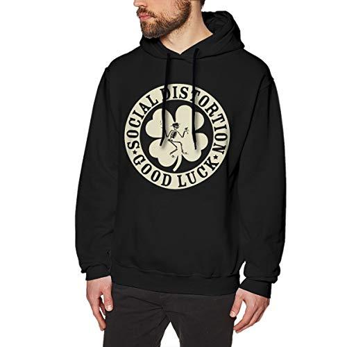 Eoinch Social Distortion Irish Mens Long Sleeve Sweatshirts Man's Hoodies L -