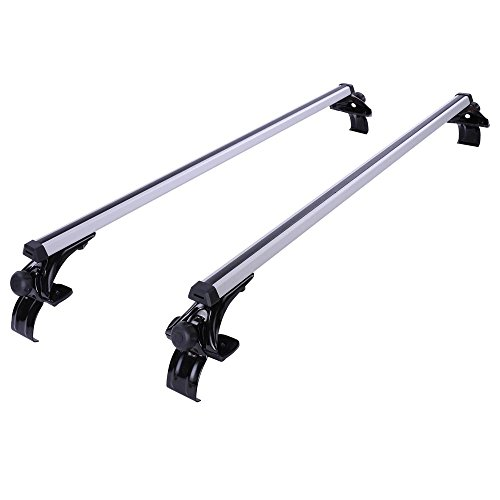 Yescom Luggage Vehicle Crossbar Silver