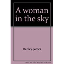 A woman in the sky