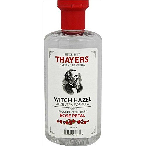 Thayers Alcohol-free VhwUKm Rose Petal Witch Hazel with Aloe Vera, 3Pack (12oz)