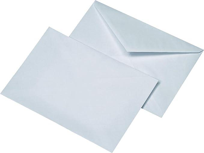 100 Umschläge DIN C5 weiß mit Fenster selbstklebend Versandtaschen 90g//m²