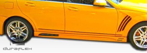 Brightt Duraflex ED-QEL-951 W-1 Side Skirts Rocker Panels Compatible With C Class 2008-2014 2 Piece Body Kit