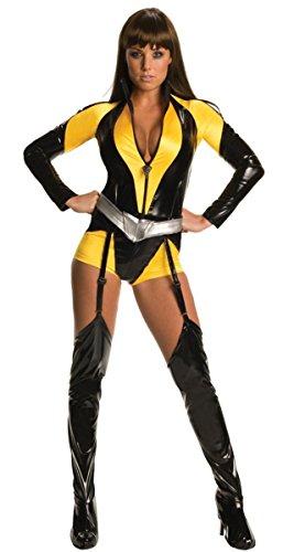 Ladies Sexy Silk Spectre The Watchmen Film TV Fancy Dress Costume Outfit UK 6-18 (UK 12-14)]()