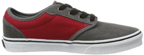 Vans Atwood Unisex-Kinder Sneakers Grau ((Suede) pewter/)
