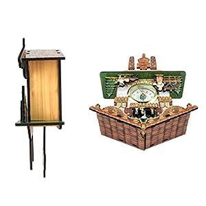 perfeclan Reloj de Pared Antiguo de Cuco Decoración Casera Regalos Excelentes