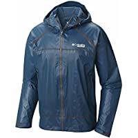 Columbia Men's Outdry Ex Light Shell Jacket (Blue / Black)