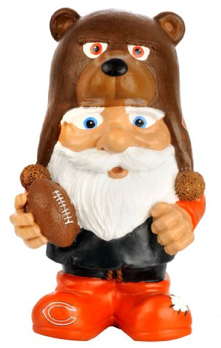 FOCO Chicago Bears Football Mad Hatter Gnome