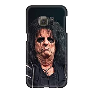 Samsung Galaxy S6 CMO15730NWGM Support Personal Customs Fashion Alice Cooper Band Pattern Best Cell-phone Hard Cover -TammyCullen