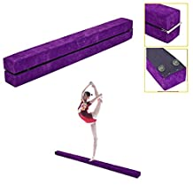 Balance Beam Young Gymnasts Cheerleaders Training Folding Gymnastics Beam for kids