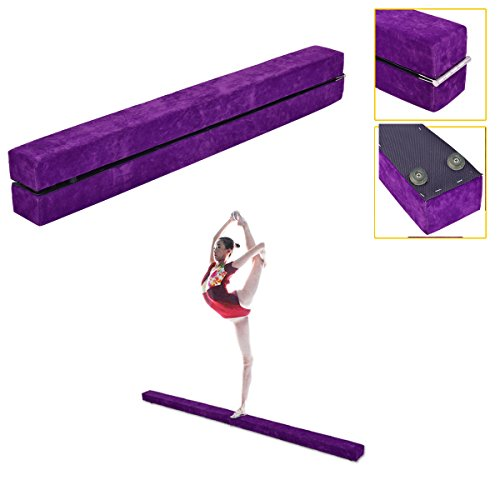 Folding Balance Beam Performance Floor Training Athletics Durable Slip Resistant