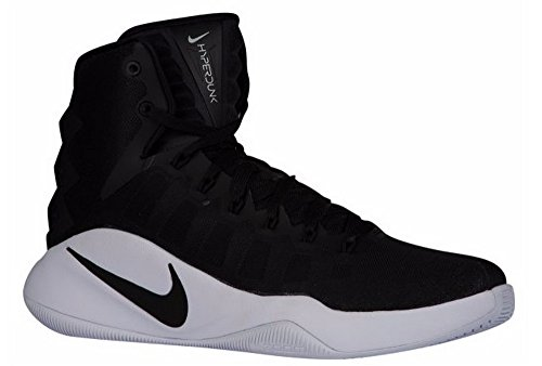 Nike Men's Hyperdunk 2016 Tb Basketball Shoes, Black/White, 10