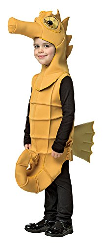 Underwater Creatures Costumes (Boys Halloween Costume-Seahorse Kids Costume Small 4-6)
