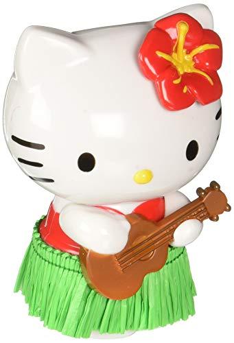 Hello Kitty Ornaments (CHROMA 048004 White/Black/Green Hello Kitty Hula Dancer Red Dashboard Auto)