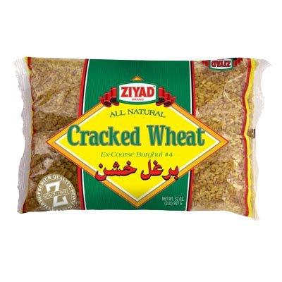 Ziyad Cracked Wheat #4 Ex-Coarse 32 OZ, (Pack 1) -