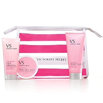 6648a2577aefd Amazon.com : Victoria's Secret Perfect Body 4-Piece Starter Kit + ...