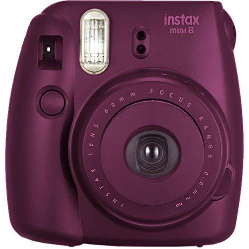Fujifilm instax mini 8 Instant Film Camera (Plum) by Fujifilm