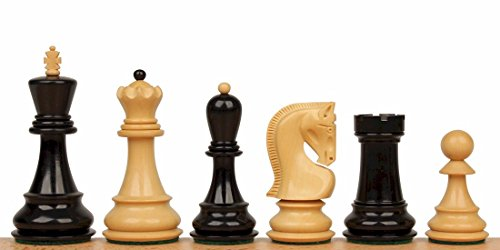Boxwood Weight Triple (The Chess Store Yugoslavia Staunton Chess Set in Ebonized Boxwood & Boxwood - 3.875