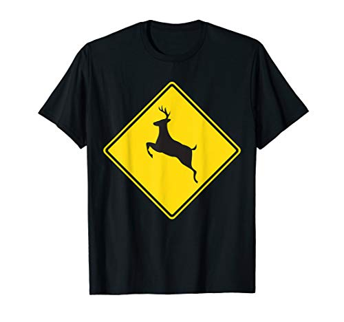 Deer Crossing Traffic Road Street Sign -