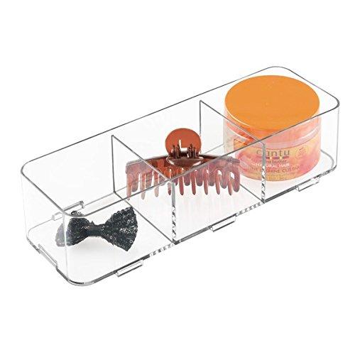 4 opinioni per mDesign contenitori in plastica per cassetti – divisori per cassetti a sistema