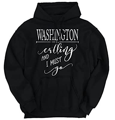 Washington, DC is Calling I Must Go Hoodie