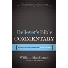 Believer's Bible Commentary by William MacDonald (1995-03-13)