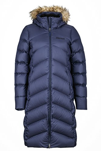 Marmot Womens  Montreaux Down Coat - X-Large - Midnight Navy -