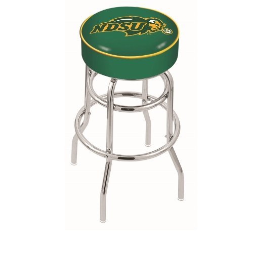 UPC 071235060602, Holland Bar Stool L7C1 North Dakota State University (green) Swivel Counter Stool, 25""