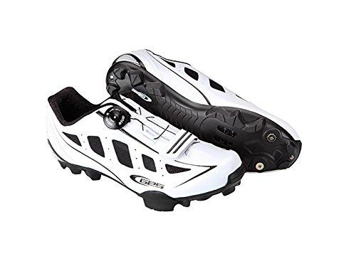 Ges Manufacturas S.A. MTB Rider Zapatillas, Unisex blanco