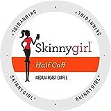 Skinnygirl Half Caff coffee Single Serve Cups for Keurig K Cup Brewers, 24Count