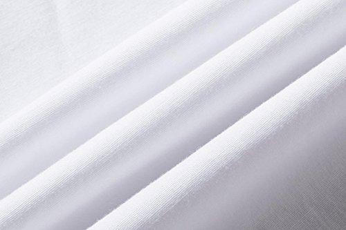 Jzs046 Camicia Jzs047 Camicie Semplice Uomo white Da Slim Sportrendy Shirts Unita Tinta Lavoro Men Top Moda OfTdRwqx