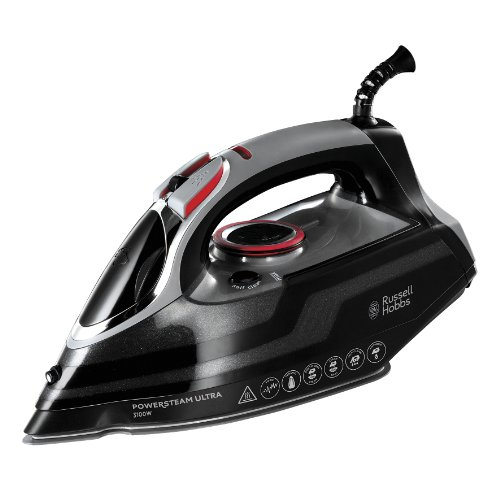 Russell Hobbs Powersteam Ultra 3100 W Vertical Steam Iron 20630 - Black and...