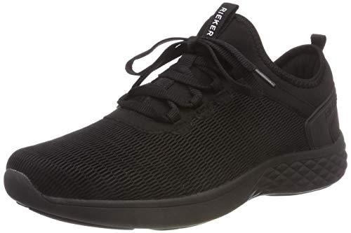 Les Hommes Rieker B9753 Noir Baskets (noir / 00)