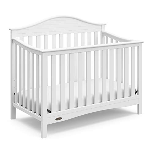 Cheap Graco Harbor Lights Convertible Crib, White, Easily Converts to Toddler Bed Day Bed or Full Bed, Three Position Adjustable Height Mattress (Mattress Not Included)