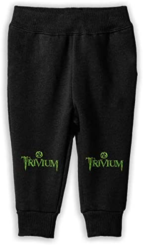 Trivium Logo ロングパンツ スウェットパンツ 男の子 女の子 子供 日常 旅行 気軽 吸汗速乾 弾性 通気性 耐久 春秋 肌触り 柔らかい 下着 卒業式