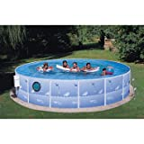 Sun N Fun SVC 1542GP-JCP Pool Package with Porthole, 15 x 42 in.
