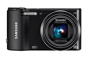 """Samsung WB150F - Cámara compacta de 14.2 Mp (pantalla de 3"""", zoom óptico 18x, estabilizador de imagen óptico, WiFi) color negro"""