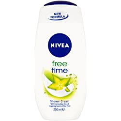 NIVEA Free Time Shower Cream 250ml Pack of 6