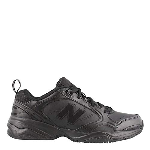 (New Balance Men's MX624v2 Casual Comfort Training Shoe, Black, 10.5 6E US)