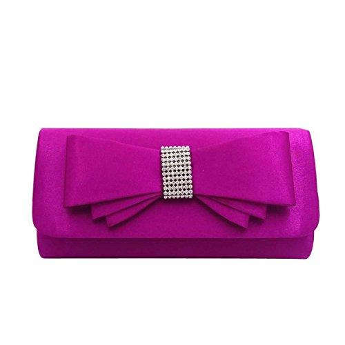 Main Fashion Soirée Party Femmes Forfait purple à De Sac Sac S5qxvXOgwa