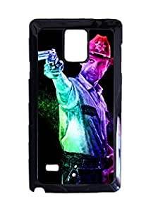 Engood Design The Walking Dead Rick Case Durable Unique Design Hard Back Case Cover For Samsung Galaxy Note 4 New WANGJING JINDA