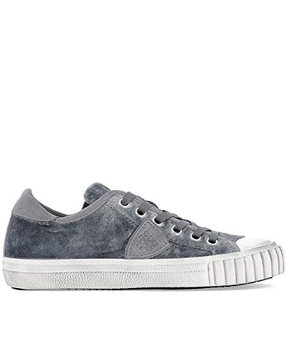 Philippe Sneakers Donna Grigio Grldev07 Model Velluto qqpxw6ST