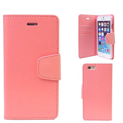 Mercury Diary Style Case for iPhone 6 Plus (Pink)