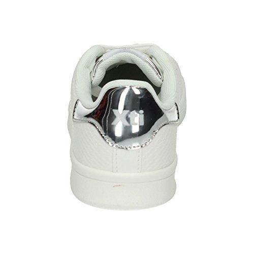 Blanc De D'extérieur Pour Chaussures Argenté Sport Xti Femme BwYFa5q